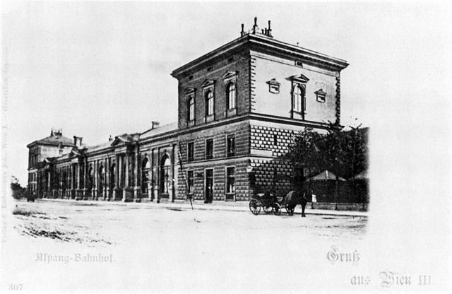 Aspangbahnhof 1905