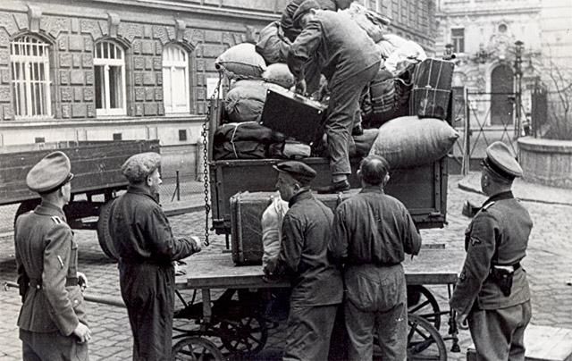 Deportation der österreichischen Juden Wien 1942